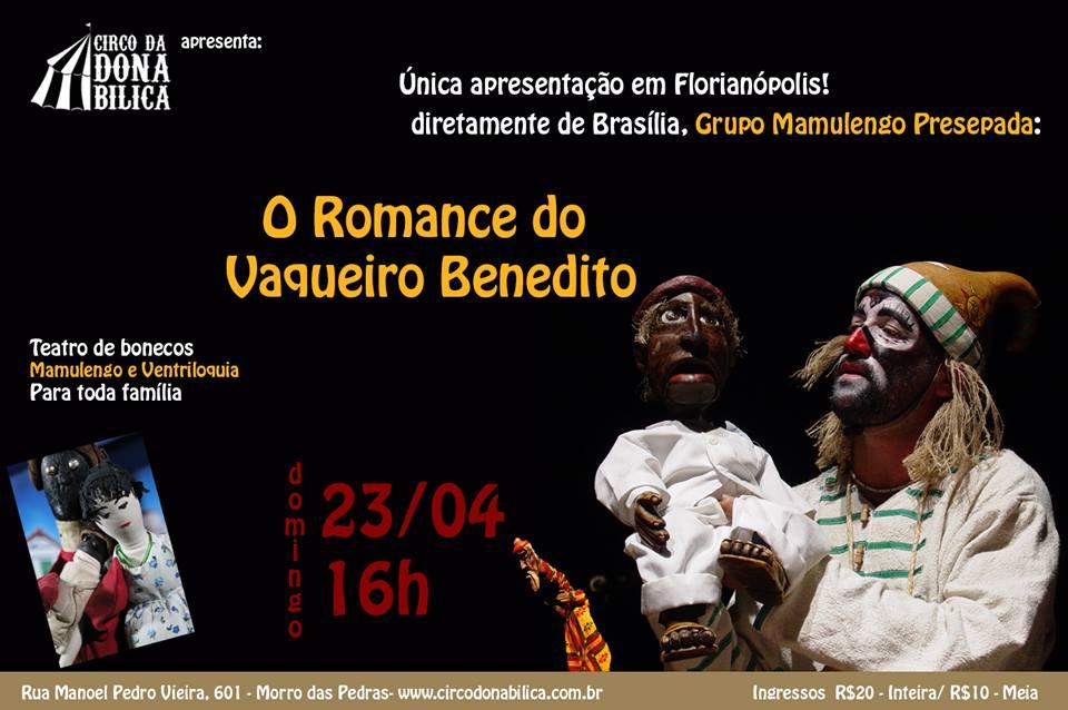 Mamulengo Presepada no Circo de Dona Bilica – Floripa – SC